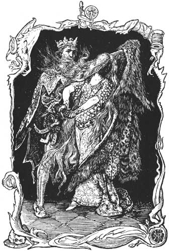 Allerleirauh is Discovered by the King by Henry Justice Ford (1892).